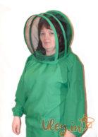 """Куртка пчеловода габардин с маской """"Евро"""""""